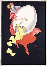 Original Poster Artwork 1920s Henry Monnier RARE !!!