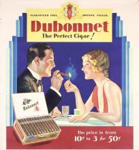 Original 1920s American Havana Cigar Art Deco Poster
