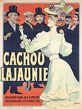 Original Vintage 1900s Cachou Lajaunie Poster TAMAGNO