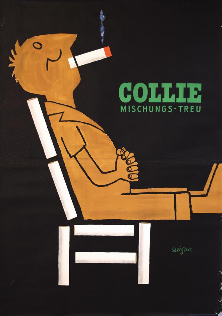 Raymond Savignac, Collie, 1952