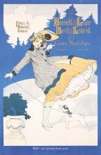 BEAUTIFUL Original 1910s American Clothing Poster BRAND