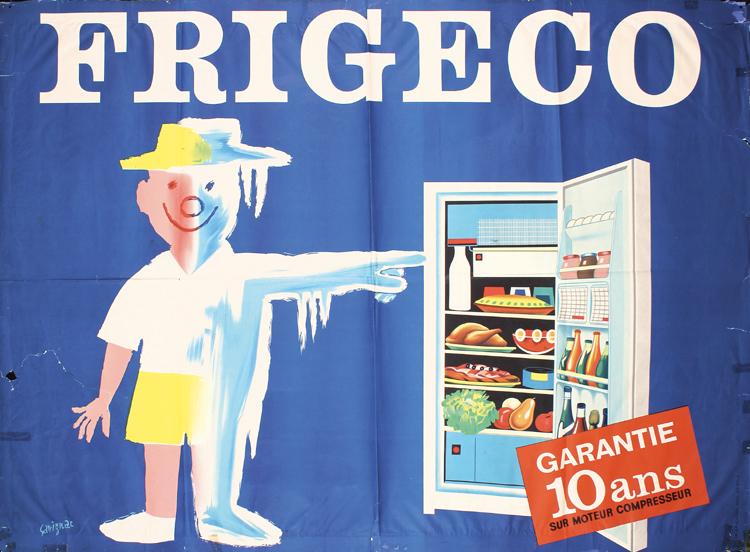 Raymond Savignac, Raymond , Frigeco, 1958