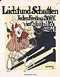Original 1910s German Magazine Poster Plakat PREETORIUS, Emil Preetorius, Click for value