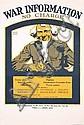 Original 1918 US World War I Poster UNCLE SAM War Info, Ernest Hamlin Baker, Click for value