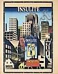 Original 1930s IB ANDERSEN Architecture Poster INSULITE, Ib (1907) Andersen, Click for value