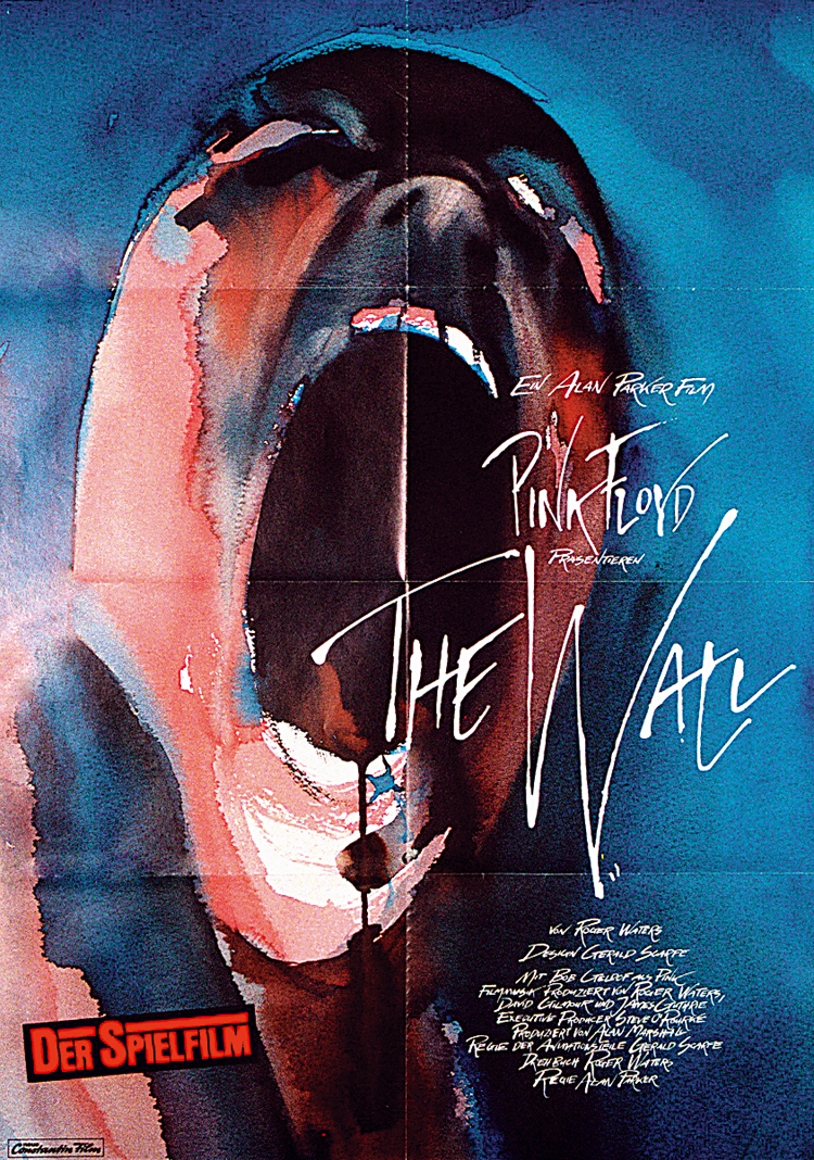 Original 1982 Pink Floyd The Wall Film Poster