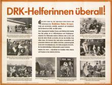 Original Vintage 1940s World War II German Red Cross Poster