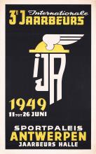 Original Vintage 1940s Dutch Design Poster Plakat