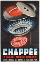 Original Vintage 1930s French Gas Advertising Poster