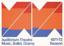 Original Vintage 1970s New York Modern Design Poster