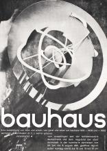 Original Vintage 1961 Bauhaus Exhibition Poster Clemens Art