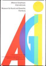 Original Vintage 1960s EIDENBENZ Graphic Design Poster AGI