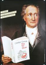 Original Vintage 1980s German Culture Posters Goethe