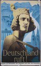 Original Vintage 1930s Germany Travel Poster ESCHLE Design