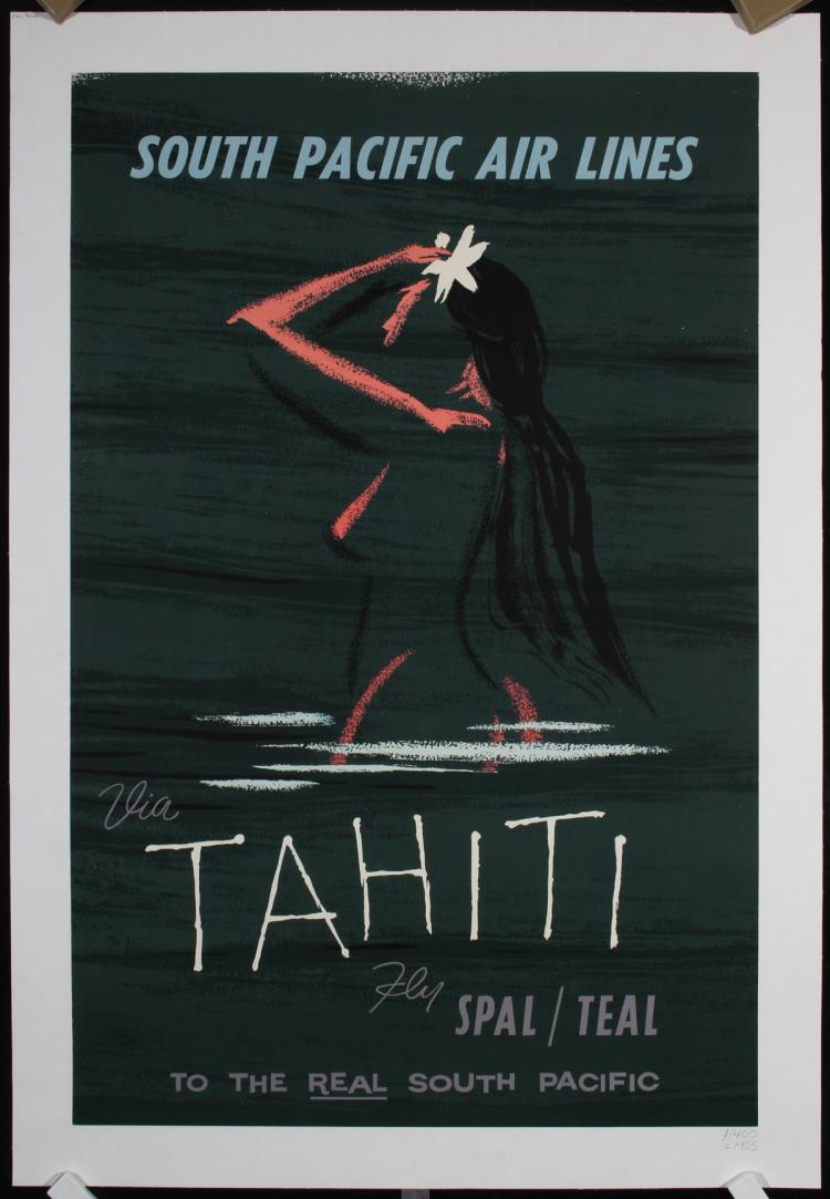 Image result for Tahiti travel poster