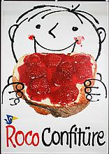 Funny Original 1950s Swiss Design Roco Jam Poster