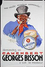 Original 1930s French Cheese Poster Henry Monnier