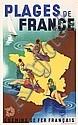 Old Original 1930s French Beach Travel Poster MAX PONTY, Max Ponty, Click for value