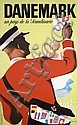 Original 1940s Danish Travel Poster THELANDER Design, Henry Thelander, Click for value