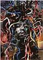 Original 10992 HENDRIX EXPERIENCE Kieser Art Poster, Günther Kieser, Click for value