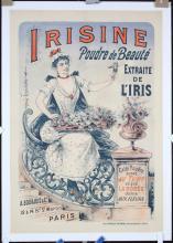 Vintage Original 1890s/1900s Paris Beauty Powder Poster