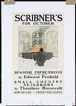 Original Vintage NFIELD Scribner Poster