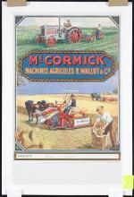 Original Vintage 1910s French Agricultural Poster McCor