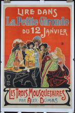 Original 1910s/20s French 3 Musketeers Poster