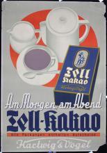 2 Original Vintage 1930s German Chocolate Poster + 1