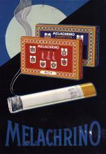 2 Original 1930s German Cigarette Design Posters