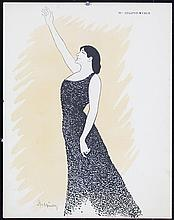 Original Vintage 1900s CAPPIELLO Litho Print