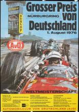 2 Original 1970s Grand Prix Auto Racing Posters TURNER