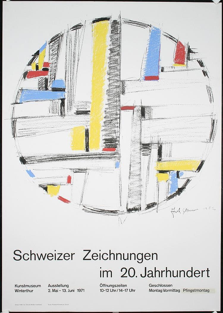 Original 190s Müller-Brockmann Swiss Design Poster
