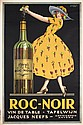Beautiful Rare Original 1920s Wine Advertising Poster