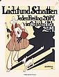 Original 1910s German Magazine Poster Plakat PREETORIUS