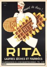 RARE Original 1930s Hamburg America Line Travel Poster