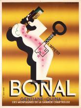 Original Vintage 1930s Art Deco CASSANDRE BONAL Poster