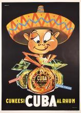 Funny Original 195UBA RUM RUM Poster