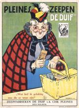 Original Vintage 1910s Dutch Soap Advertising Poster
