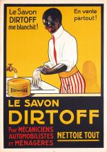 Original Vintage 1920s/30s Racist Soap Poster