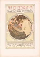 Original 1902 Alphonse Mucha Documents Decoratifs Plate