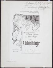 2 Original 1890s/1900s MUCHA Prints Sheet Music + Monte