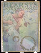 Original 1920s MUCHA Cover HEARST COMPLETE ISSUE !