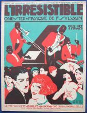 3 Original 1920s Sheet Music Covers PETER DE GREEF