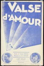 2 Original Vintage 1920s RENE MAGRITTE Sheet Music Cove