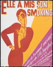 2 Original Vintage 1920s RENE MAGRITTE Sheet Music