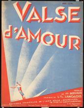 Original Vintage 1920s RENE MAGRITTE Deco Sheet Music