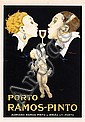 ORIGINAL 1920s Porto Ramos Pinto Poster RENE VINCENT, Rene Vincent, Click for value