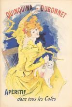 Original Vintage 1890s JULES CHERET Quinquina Poster