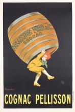 Original Vintage 1900s CAPPIELLO Cognac Pellison Poster